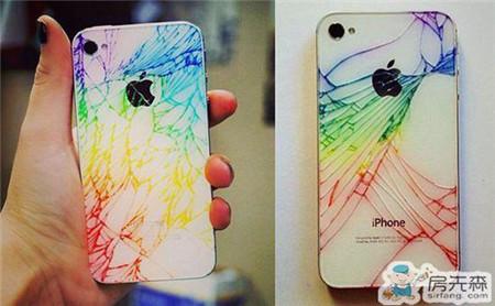 摔碎的iPhone大变身 这样的苹果你喜欢吗