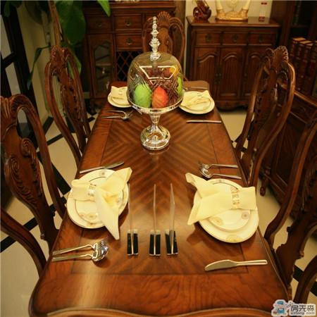 实木餐桌椅价格  实木餐桌椅的优点