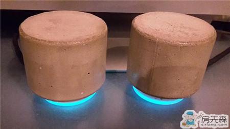 水泥多出来就做成小音箱吧 创意十足哦