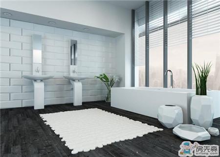 浴室去湿除菌植物 快来给浴室去湿吧