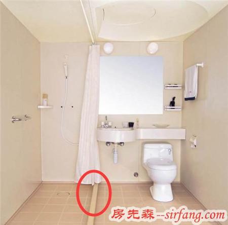 卫生间装修误区