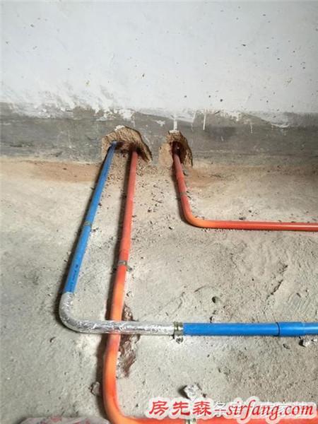 当初装修时水电管线没做好,住进去才知道麻烦这么多