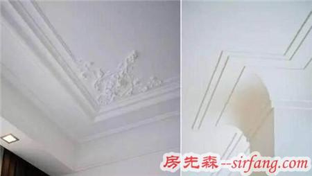 家庭装修不用傻傻花钱装吊顶了,石膏线就能满足你的奢华家居梦!