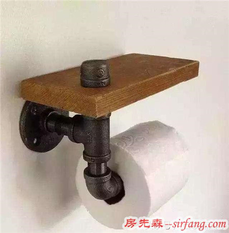 装修剩下的管子不要扔 简单一弄变成小花盆