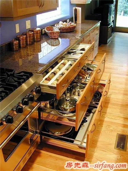 90%的女人都无法拒绝的厨房神器 收纳+环保+颜值一样不落