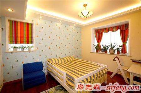 128平欧式家 每个空间都好美