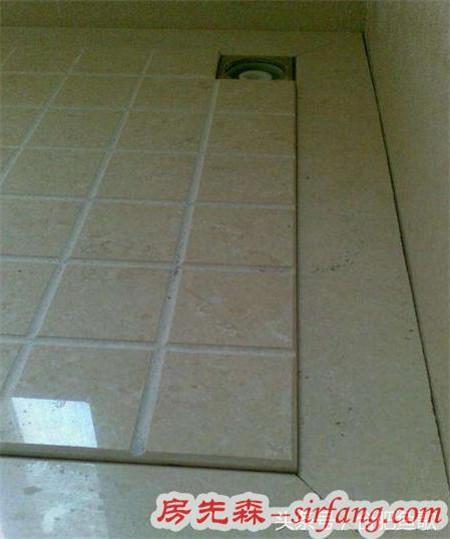 据说淋浴房这么做,地砖都省了,走水超快!