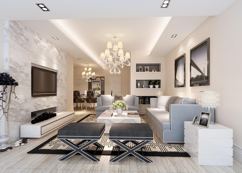 【房先森装修学院】想让家里装修看起来更贵,这5个妙招用起来,让客厅充满优雅感